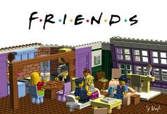 Monicas Rachels Apartment1 (saitalanyali) Tags: friends game toy idea ross rachel apartment lego joey phoebe monica chandler cuusoo
