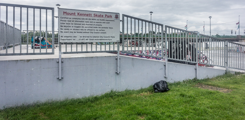 MOUNT KENNETT SKATE PARK IN LIMERICK CITY