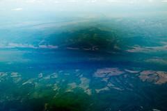 IMG_2844 (jaglazier) Tags: trees panorama ice june landscapes russia united aerial siberia swamps rivers plains forests conifers deltas khabarovsk coasts unitedairlines 2014 braiding aerialphotos seaofokhotsk coniferoustrees ua835 khabarovskkrai 61014 ordtopvg tugurochumikansky tugurochumikanskydistrict