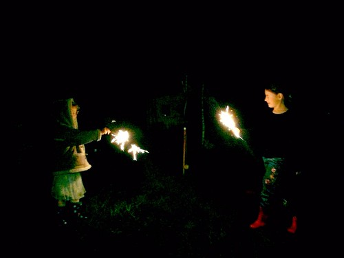 DB and Daphne: Solstice Sparklers