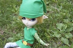 Link (magnhildr) Tags: doll dal retro videogames wig link zelda pullip custom johan legendofzelda isul obitsu byul pickchick