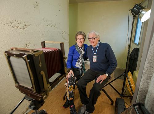 Tintype Portrait - Jerry Uelsmann & Maggie Taylor