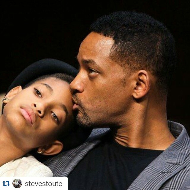 #Repost @stevestoute Another great man #willsmith raising his queen.. Were celebrating Fathers Day ALL WEEK #fathersday #striveforgreatness