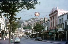 Llandudno main street with Rover and Viva . Aug'70. (David Christie 14) Tags: rover llandudno