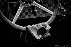 Gloves of the pilot. (christian.grelard) Tags: gloves pilot car automobile race vintage nb bw monochrome