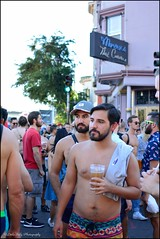 Folsom Street Fair 2016 (Little Italy Photography) Tags: nikond7100 nikon nikondigitalslr sanfrancisco ca nikon35mmf18gafsdxlens men leather boys view exhibitionist california folsomstreetfair streetfairs costumes tats chest bare neighborhoods events hairychest muscle folsomleatherfestival tattoos smokinghot stud mansman face women hunk harnesses colors styles makeup hats beards folsom2016 people masks feathers angelwings folsomdore dogs kink bdsm red bondage streetfair