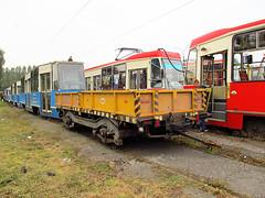 Technical wagon, #3, Tramwaje lskie (transport131) Tags: tram tramwaj t bdzin kzk gop wagon techniczny technical