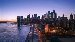 FDR Drive Twilight Time Lapse (Michael.Lee.Pics.NYC) Tags: newyork video timelapse manhattanbridge fdrdrive brooklynbridge eastriver lowermanhattan night twilight bluehour vibrations subway sony a7rm2 zeissloxia21mmf28