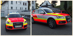 Physician Response Vehicle (Paramedix) Tags: nef audi germany deutschland badenwrttemberg drk rettungsdienst notarzt ems medics emergency notfall g