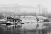 Afternoon in black and white (Paweł Szczepański) Tags: kraków małopolskie poland pl sal70200g trolled sonyflickraward pinnaclephotography legacy dockbay shockofthenew sincity