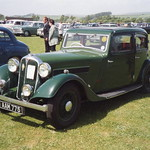 Rover 12-4 (P1) Four-light Sports Saloon (1936) thumbnail