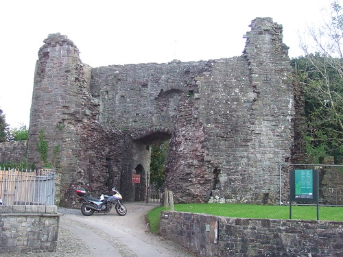 2016 # 090, Laugharne Castle, Carmarthenshire 1. (RBR 2001)