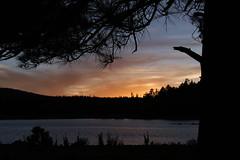 Sunset at Hawley Lake (lars hammar) Tags: whitemountains hawleylake arizona lake sunset