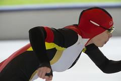 A37W0378 (rieshug 1) Tags: speedskating schaatsen eisschnelllauf skating nkjunioren knsb nkjuniorenallroundafstanden afstanden allround 50010001500massstart demeent alkmaar sportcomplexdemeent juniorenb ladies dames 3000m