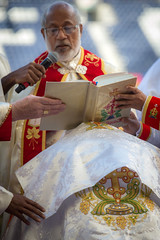 Episcopal Ordination Mar Joseph Srampickal (Catholic Church (England and Wales)) Tags: episcopal ordination mar joseph srampickal new syromalabar cathedral preston bishop bishops bless closeup