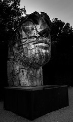 Giardino di Boboli, Firenze, Italia (renatomartinho) Tags: bw blackandwhite firenze art boboli gardens face human italia