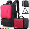 Socko 17 Inch Shoulder Carrying and Backpack Travel Hike Laptop Bag Case Cover For HP Dell Sony Laptop Notebook Computer / Macbook Air/Pro Hp Dell Sony ASUS ThinkPad Acer Apple (Hot Pink) (paulbulmer) Tags: acer airpro apple asus backpack carrying case computer cover dell hike inch laptop macbook notebook pink shoulder socko sony thinkpad travel