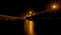 Starlight (JDS Fine Art & Fashion Photography) Tags: urbanlandscape bridges night water ocean sea extendedexposure starlight rays beauty inspirational