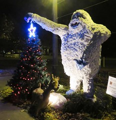 River Lights - 2016 (Hear and Their) Tags: river lights 2016 amherstburg abominable snowman snow man