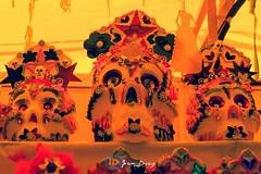 Sugar Skull (Joan Daz) Tags: skull dulce caramelo tradicin diademuertos cultura calavera toluca portales papelpicado sugar lomografia lomography crossprocessed procesocruzado candy dayofthedead mxico sonyalpha slta33 sal1855