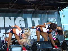 IMG_6015 (grooverman) Tags: houston texans cheerleaders nfl football game nrg stadium texas 2016 budweiser plaza nice sexy legs stomach canon powershot sx530