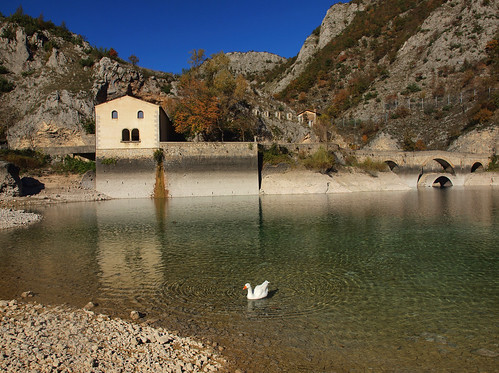 San Domenico's hermitage with a goose