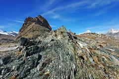 stone (welenna) Tags: alpen autumn alps switzerland schwitzerland sky swiss stone steine view landscape light licht relief berge blue mountains mountain gornergrat