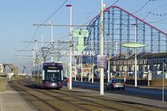 005 Bombardier Flexity 2 Blackpool Transport (Vodka Burner) Tags: 005 bombardierflexity2 blackpooltransport blackpool blackpooltram bombardier tram lightrail pleasurebeach lancashire