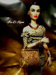she SLAYS (krixxxmonroe) Tags: ira d ryan photography styling by krixx monroe fashion royalty nu face opium ayumi
