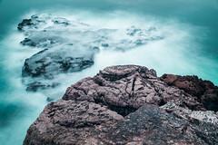 Las Caricias (The caresses) (Dibus y Deabus) Tags: gijon asturias espaa spain mar sea rocas rocks canon 6d paisaje landscape
