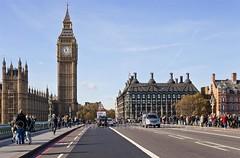 Westminster Bridge (veronicajwilliams photography) Tags: veronicajwilliamsphotography veronicajwilliams travelphotography travel canon canon5dmarkii canon2470mm canon2470mmf28l london uk britain elizabethtower bigben westminsterbridge clock clocktower bridge
