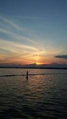 Sunny Waves On Cameron Lake (Tyler_Regan) Tags: waves lake water ski boat fun outdoors tyler regan him her flikr sun sunset clouds lil