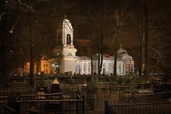 Church for the sake of Saint Eudoxia #2 (Unicorn.mod) Tags: 2016 samyang35mmf14asumc samyangmf35mmf14edasumcae landsape cemetery textures night church ortodox manual manuallens