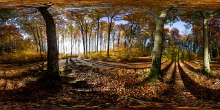 360 degree image - Autumn in Larvik