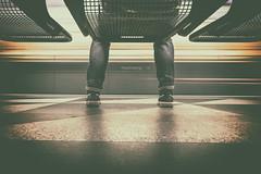 Mr. Bunny Hill (matthiasstiefel) Tags: hasenbergl sneaker jeans underground metro subway ubahn munich münchen bavaria