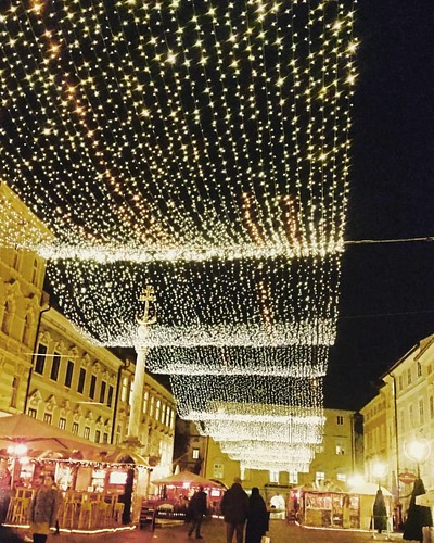 #klagenfurt #austria #madeinaustria #christmas #night #city #instagood #widenyourworld #photooftheday #instatravel #travel #travelgram #ownthemap #carinthia