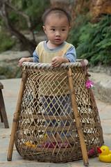China - Basha Miao village, child (lukasz.semeniuk) Tags: china bashamiaovillage child basha