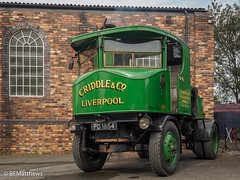 """Sentinel No. 5558 """"Maggie May"""" (Ben Matthews1992) Tags: foxfield railway traction engine steam old vintage historic preserved vehicle transport british staffordshire england britain sentinel tractor wagon waggon 5558 maggiemay criddle pd1854 lorry truck commercial"""