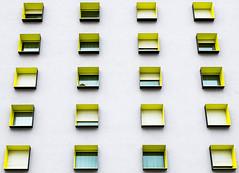 Paris 13 (pi3rreo) Tags: fenêtres paris extérieur city ville fujinon fujifilm xe2 jaune abstract abstrait immeuble building urban urbain symétrie colours couleurs high key highkey france