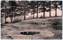 Wimbledon Common - Caesar's Well (pepandtim) Tags: postcard old early nostalgia nostalgic 32wcw33 fullers photoseries wandsworth 31081916 1916 elliott james spicer messrs sons upper thames street london algarve road earlsfield weather soldiers camp drill football trench digging poured broken phyllis holder evan may died somme battlefield private oliver robert service number gloucester regiment journeyman baker cirencester married wife son bombardment battle pozieres mouquet farm thiepval memorial america dance joseph cawthorn chicago frank sinatra sang time life danced