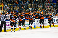 "Missouri Mavericks vs. Ft. Wayne Komets, November 12, 2016, Silverstein Eye Centers Arena, Independence, Missouri.  Photo: John Howe/ Howe Creative Photography • <a style=""font-size:0.8em;"" href=""http://www.flickr.com/photos/134016632@N02/30869273982/"" target=""_blank"">View on Flickr</a>"
