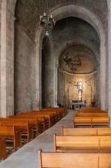 Santa Maria de l'Estany (Catalogne/Espagne) (PierreG_09) Tags: église nef espagne catalogne spain españa espanya cataluña catalunya santamariadelestany monastère monestir lestany santamaria