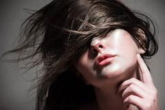 (Taran W) Tags: people portrait portraiture face hand lips hair shadows studio light makeup