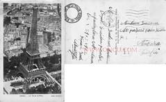 Paris (talatwebfoto1) Tags: yapi kule paris 1932 siyahbeyaz pullu arkasıyazılı 19231950