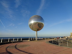 The Worlds Largest Glitterball in Blackpool (j.a.sanderson) Tags: the worlds largest glitterball blackpool