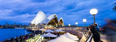 Sydney Opera House and Sydney Harbour Nightlife, Sydney, Australia (curtiselise) Tags: architecture australia blue building city color colour eastcoast evening harbor harbour horizontal image lamppost night nightlife panorama panoramic photo photography rightsmanaged rm stock stocktravelphotos sydney sydneyoperahouse travel travelphotography unesco unescoworldheritagesite water wellistravelphotography worldheritagesite