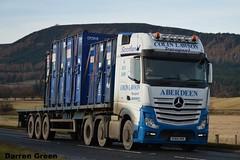 COLIN LAWSON TRANSPORT MERCEDES ACTROS MP4 510 SV64 HHX (denzil31) Tags: colin lawson transport aberdeen mercedes actros mp4 510 sv64 hhx euro6 trucks oil general trailer z551