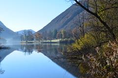 Ghirla lake (dino_x) Tags: mountains montagna lake landscape lakes nature valganna colours saveearth allaperto acqua