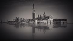Venice (colinb4) Tags: venice sangiorgio church mono reflection
