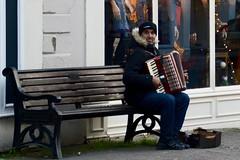 2016 Alphabet Challenge - U is for Urban (oakwoodlott) Tags: urban alphabetchallenge nikon nikond7100 d7100 streetmusician monmouth accordian